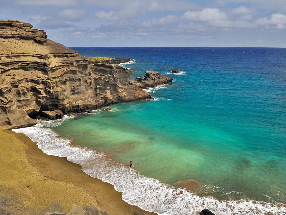 Papakolea-beach
